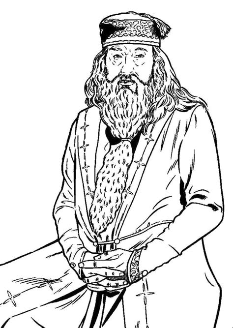 harry potter coloring pages dumbledore printable dumbledore coloring pages burrels bedroom