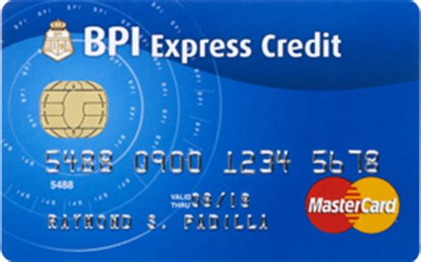 Sle Credit Card Number Philippines bpi blue mastercard the sensible card bpi cards
