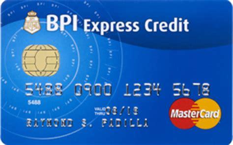 how to make advance in bpi credit card bpi blue mastercard the sensible card bpi cards