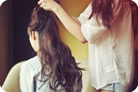 tutorial jedai rambut panjang kanubeea hair clip rambut tak lebih panjang dengan