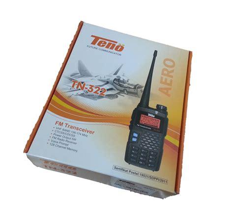 Handy Talky Teno Tn 733 toko radio komunikasi terlengkap di glodok kda ham shop radio ht teno tn 322 aero vhf