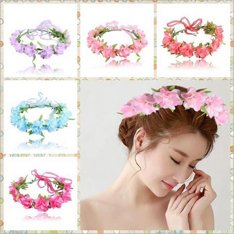 6 Beautiful Floral Headbands For And Summer by Aliexpress Buy Summer Flower Floral Headband Hair