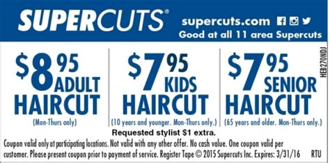 supercuts coupons coupons for kinkos