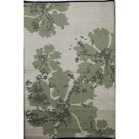 4 X 6 Outdoor Rugs B B Begonia Boca Green Beige 4 Ft X 6 Ft Outdoor Reversible Area Rug B71046020 The Home Depot