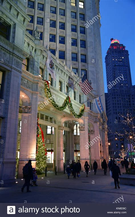 michigan avenue lights festival 2017 chicago magnificent mile lights stock photos chicago