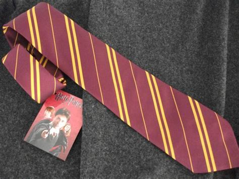 official warner bros harry potter gryffindor house tie