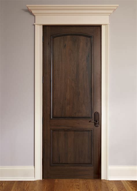 Interior Door Finishes Interior Door Custom Single Solid Wood With American Walnut Finish Classic Model Dbi M 701p