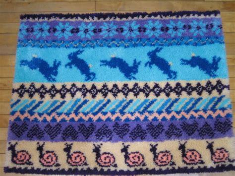 Hook Rugs Kits by Fair Isle Latch Hook Rug Kit