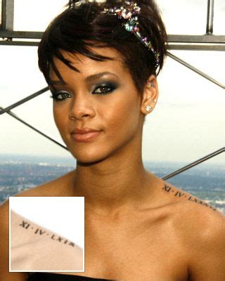 rihanna roman numeral tattoo 72 best images about riri on hip hop rihanna