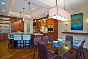 Contemporary Open Floor Plans Contemporary Open Floor Plan Remodel Jackson Design And