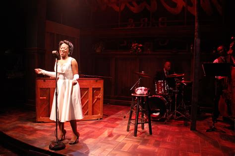 chicago theater review lady day  emersons bar grill