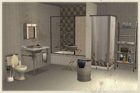 mod bathrooms mod the sims broken bathroom