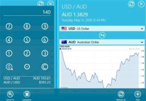 currency converter windows 10 view exchange rate with windows 10 currency converter app