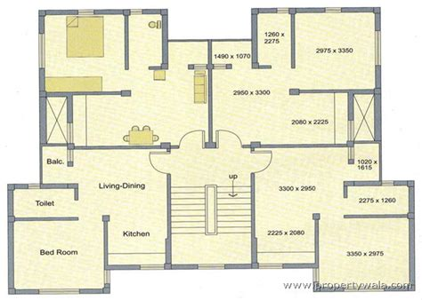 Commercial Complex Floor Plan by Alaktika Housing Complex New Town Rajarhat Kolkata