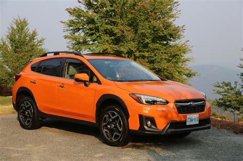 orange subaru 2018 subaru crosstrek review autoguide com news