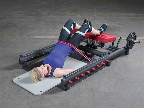 glute bridge on bench the glute builder multifunctional glute bench