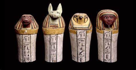vasi canopi egiziani cradle to coffin a semiotic model of and