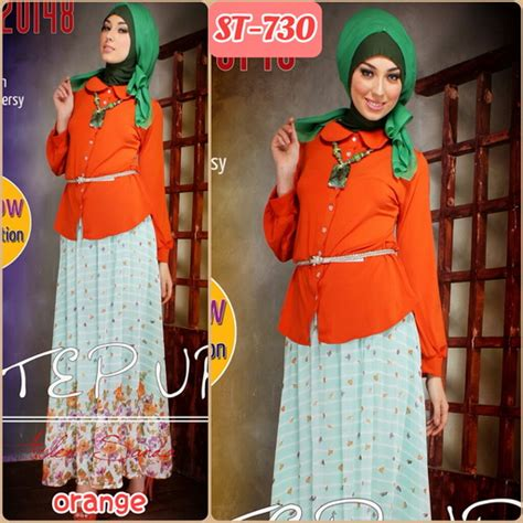 Etnik Skirt Maxi Skirt Rok Bahan Panjang Terbaru Rok Batik Murah busana muslim fashion butiq laman 108