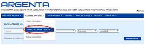 www mianses gob ar anses consultar cu 225 ndo recibo mi tarjeta argenta www
