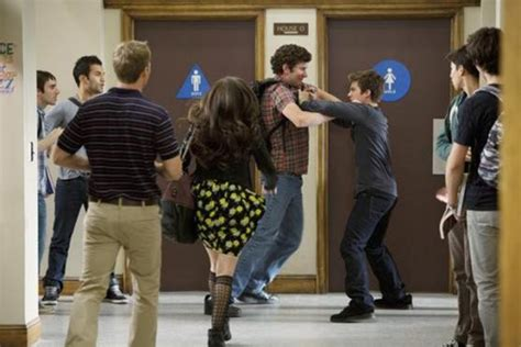 how to to fight fight in high school locker room stops abruptly