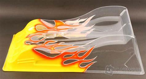 Lexan Karosserie Airbrush Lackieren by Team Titan Blitz R09
