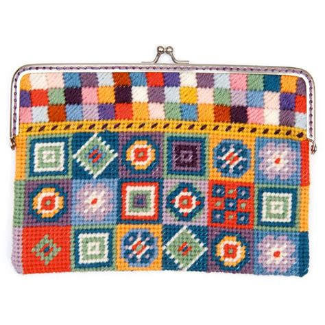 rico design embroidery kits embroidery kit tapestry purse rico design embroidery