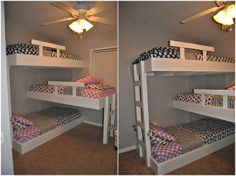 diy bunk bed 10 cool diy bunk bed designs for kids