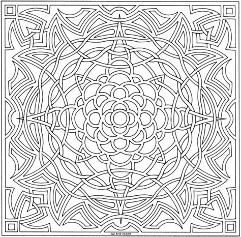 difficult geometric coloring pages 24 free printable geometric coloring pages gianfreda net