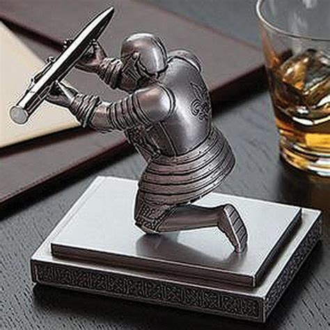 executive knight pen holder executive knight pen holder true swords