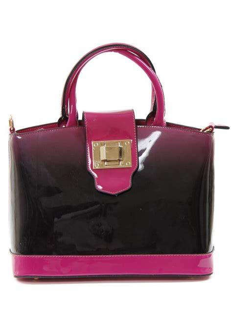 Designer Vs High Ombre Tote The Bag by Ombre Bag High Gloss Tote Bag Pink Ombre Handbag