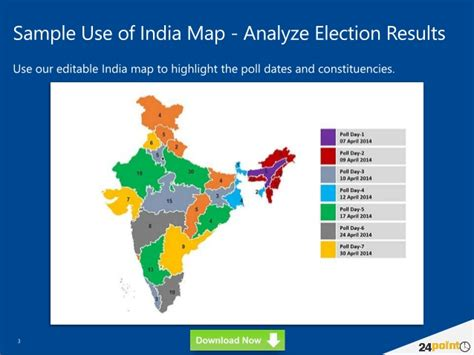 How To Use India Map In Presentation Editable Powerpoint Slides Editable Map Of India