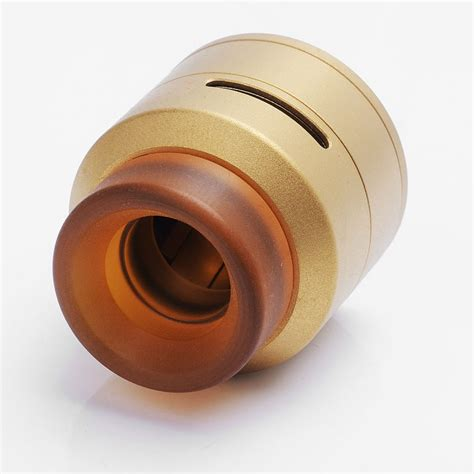 Csl Goon Lp By 528custom 24mm Stainless Steel Rda authentic 528 custom goon lp low profile rda gold rebuildable atomizer
