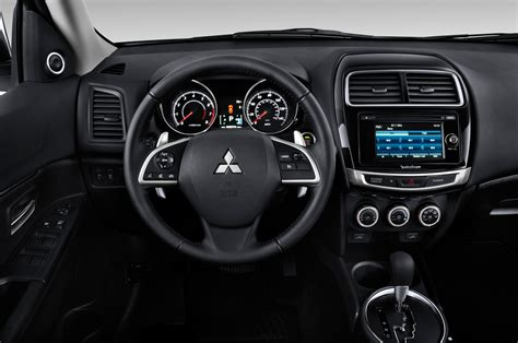 mitsubishi sport interior 2015 mitsubishi outlander sport gets cvt minor