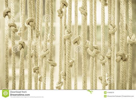 Rope Blinds blinds made of rope stock photo image 41895876