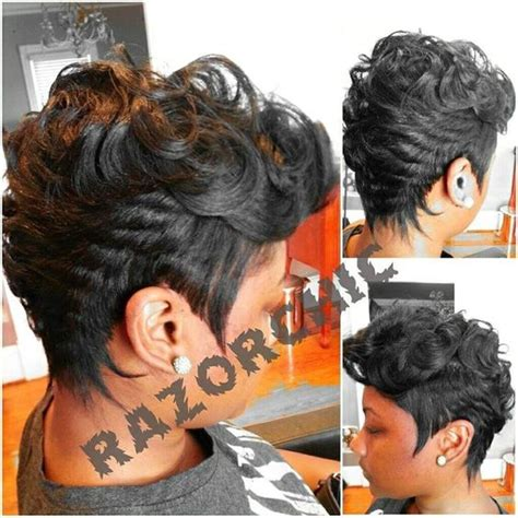 short hair cut with no relaxer hair cut relaxer and my hair on pinterest