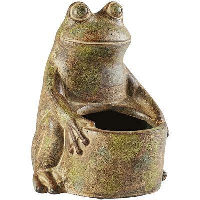 Terracotta Frog Planter Garden Ideas Pinterest Other Pier One Planters