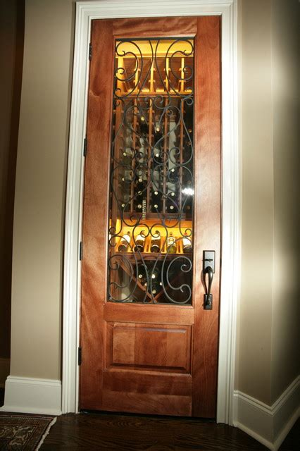 Closet Wine Cellars by Closet Converted To Wine Cellar Traditional Wine