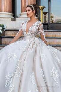 Haute amp sevilla couture wedding dresses 2017 deer pearl flowers