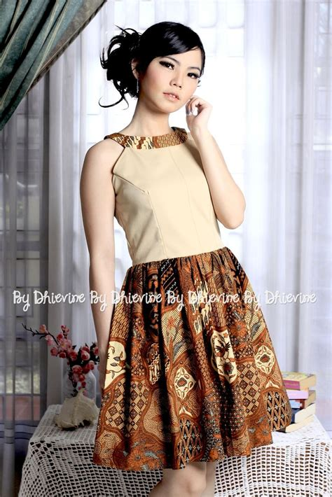 Rok Batik Cap Pola 1 the 25 best modern batik dress ideas on rok