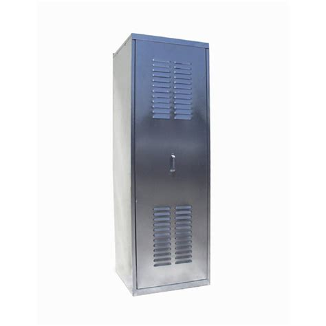 Outdoor Water Heater Shed by Shop Spacemaker Square Water Heater Enclosure 24 Quot At Lowes