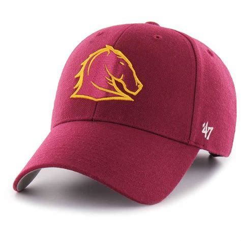 brisbane broncos supporters hat mvp cap from 47 brand