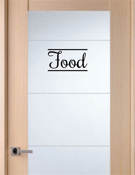 vinyl decal for pantry door 4x6 in home decor by