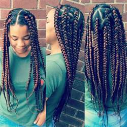 jumbo braids hairstyles 14 natural hairstyles for black women that will get you