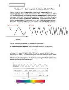 properties of light worksheet