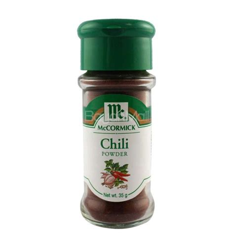 Mccormick Chili Powder Blend Mc Cormick Bumbu Bubuk Cabai Cabe mccormick chili powder net wt 35g