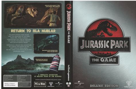 download jurassic park the game crack only jurassic park the game deluxe edition set park pedia