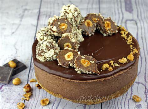 chocolate cake ferrero rocher vegan ferrero rocher mousse cake gretchen s vegan bakery