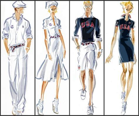 design clothes usa ralph lauren unveils u s olympic team closing ceremony