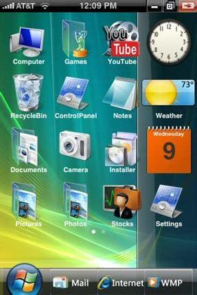 themes windows iphone iphone themes redmond pie