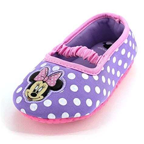 toddler house slippers girl minnie mouse purple ballet flat slippers for toddler girls shoes online shop